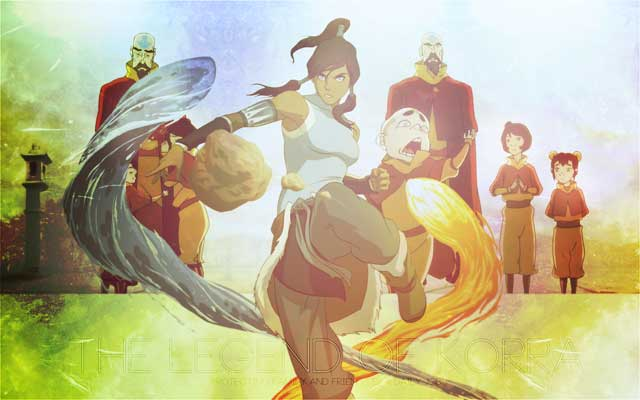 Avatar The Legend of Korra - Protecting Family and Friends Is a Daily Job