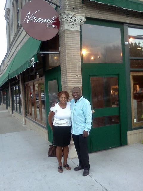 Normans Bistro owner Norman Bolden