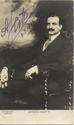 BARITONE ANTONIO SCOTTI (1866 – 1936)  2 CD