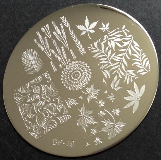 BP-19 nail stamping plate