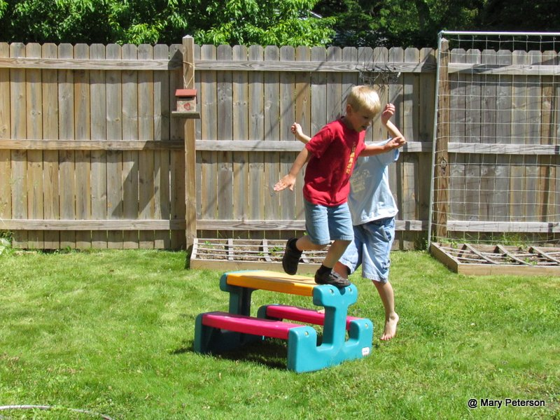 grandma 39 s homeschool backyard obstacle course