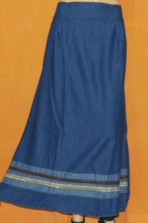 Rok Jeans Renda Cantik Murah RM304