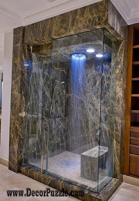 shower tile ideas, shower tile designs, tiling a shower, luxury marble shower tile