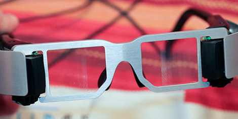 Lumus Glasses : See Through (Video Glasses) and outside