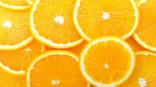 Orange Slices wallpaper