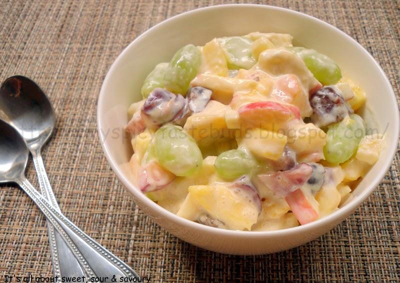 Fruit Cream Chaat