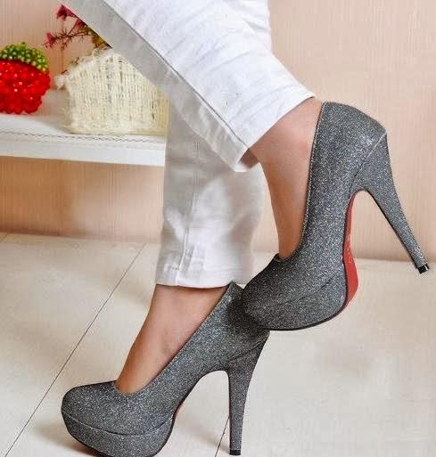 Casual High Heeled Sandal