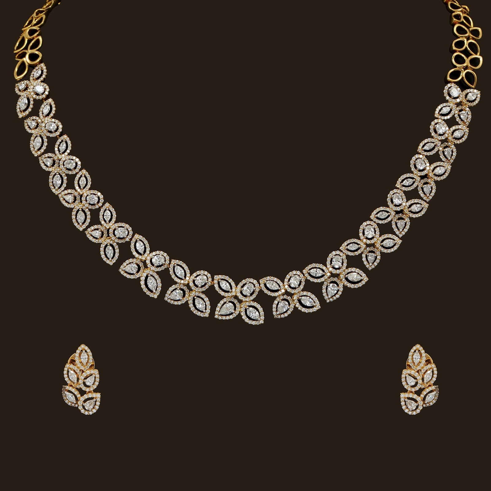 Vummidi Diamond Necklace models