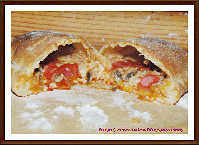 PIZZA CALZONE D...