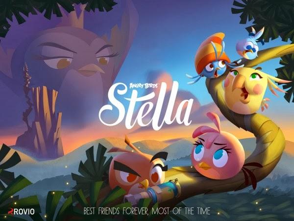 Rovio prepara Angry Birds Stella