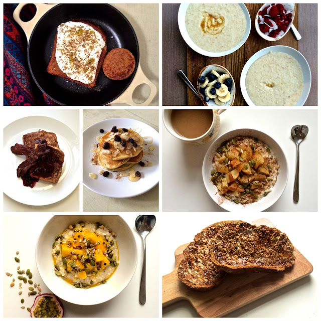 National Breakfast Week collage