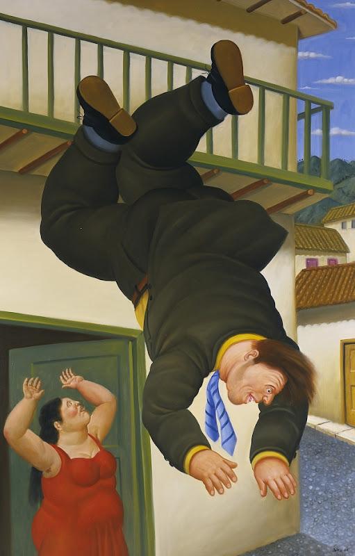 Fernando Botero - Suicide - Suicido - 2006