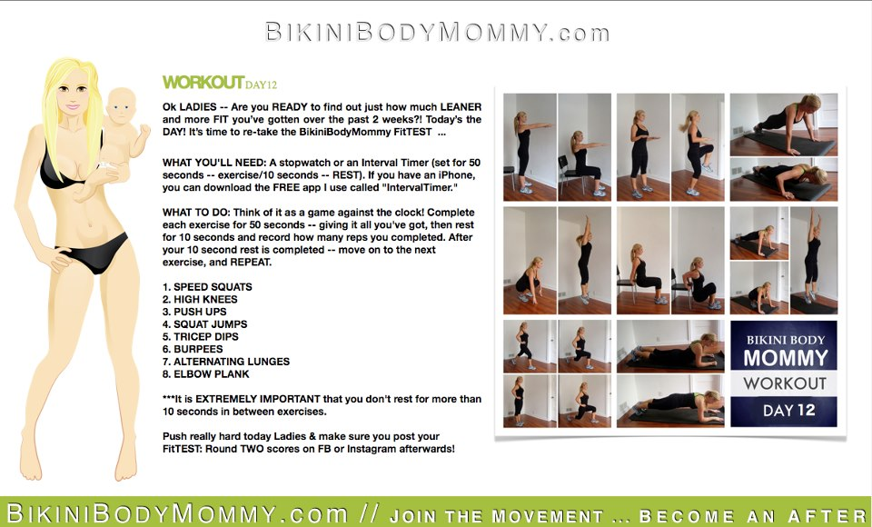 bikini body mommy cookbook pdf