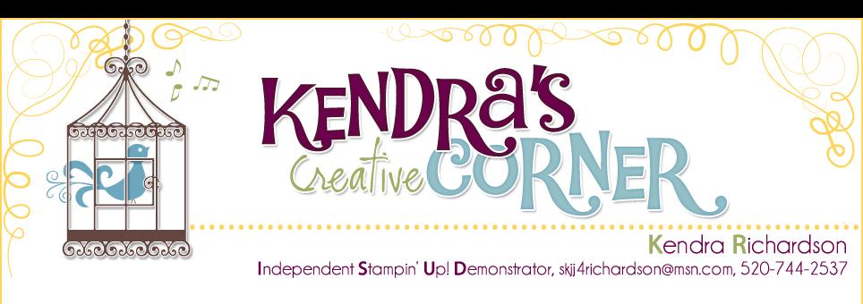 KENDRA'S CREATIVE CORNER
