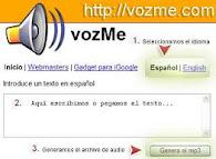 TRADUCIR UN TEXTO EN VOZ: INGLÉS Y ESPAÑOL