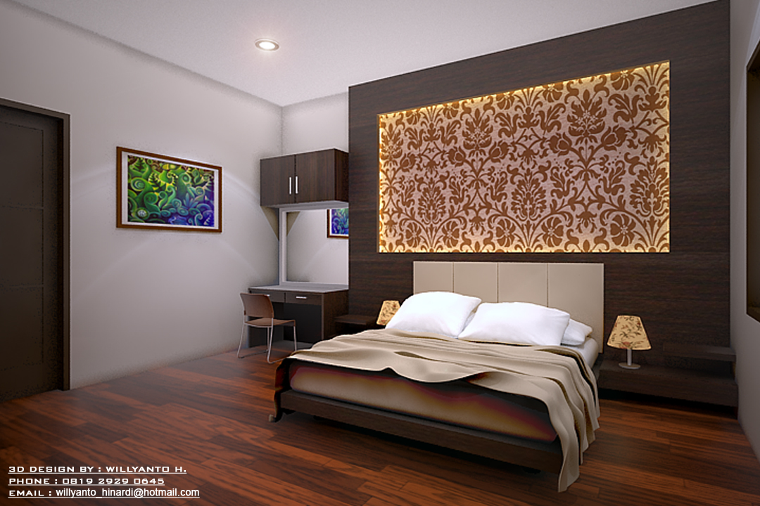 Willyanto hinardi 39 s design 3d interior master bedroom for Kar design apartments