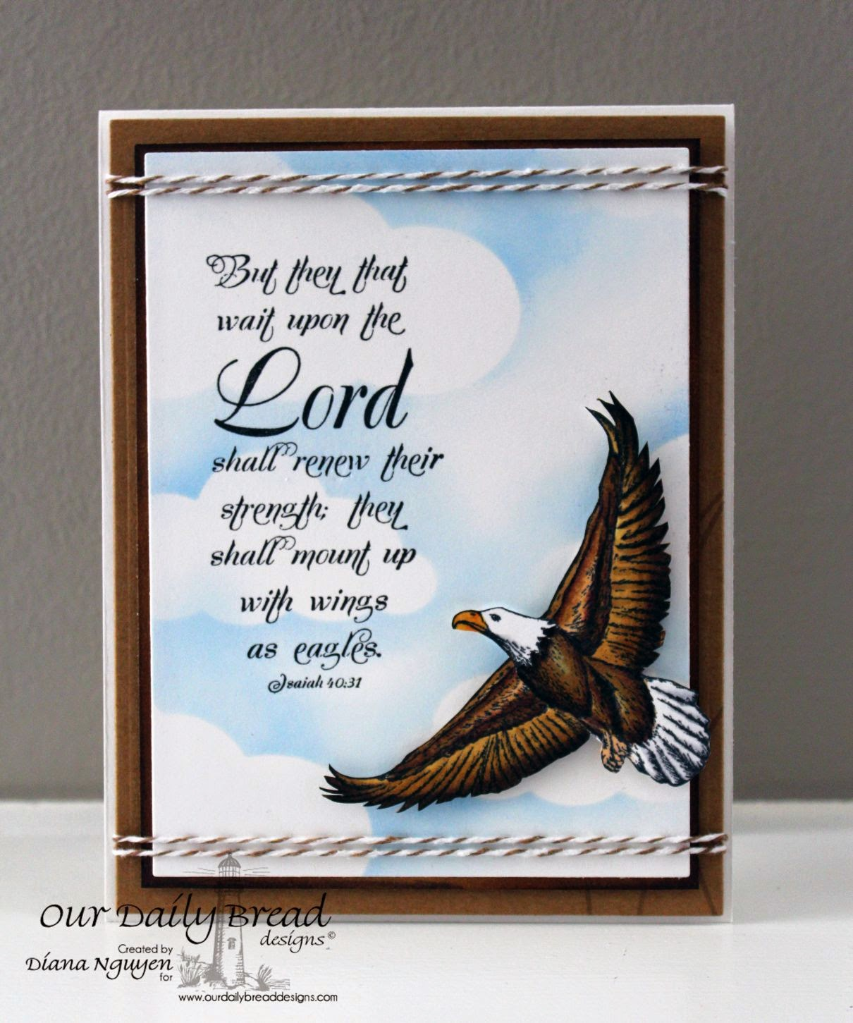 Diana Nguyen, ODBD, Our Daily Bread Designs, On Eagles' Wings