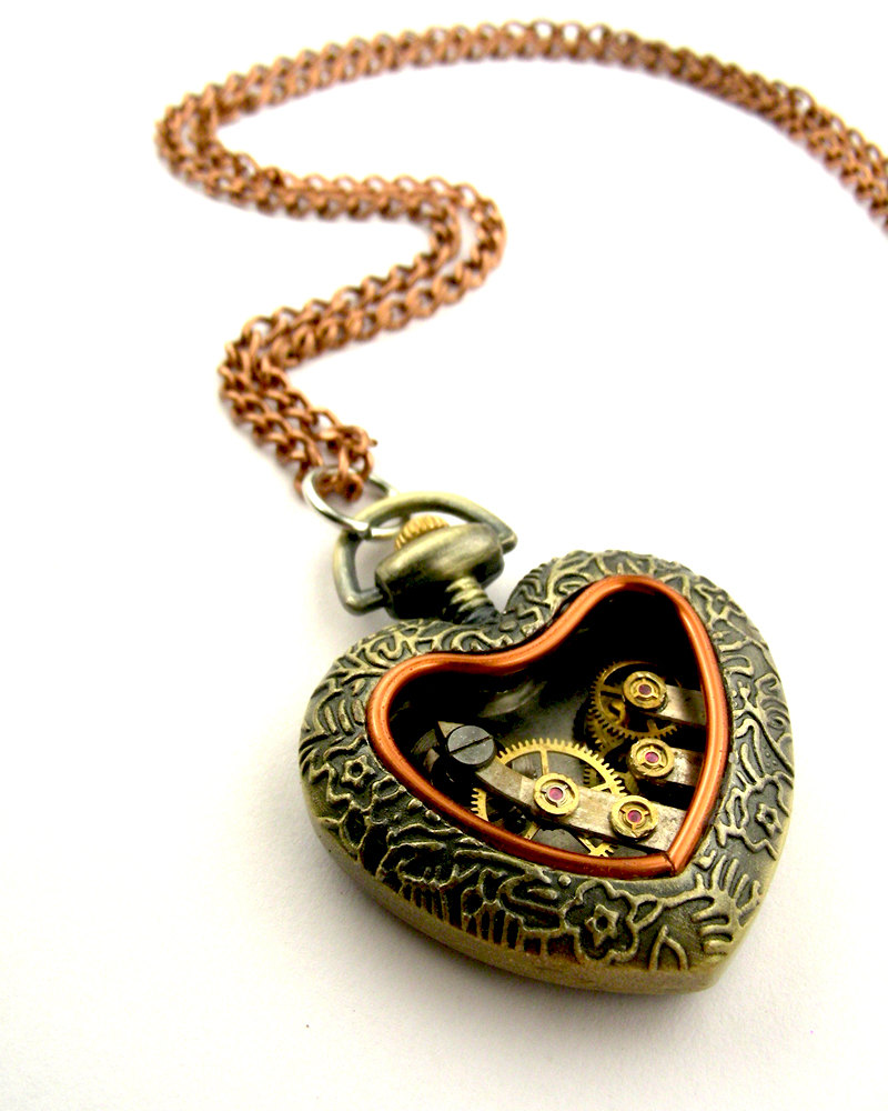 13-Jeweled-Heart-Locket-Pendant-Nicholas-Hrabowski-Steampunk-Jewelry-from-Recycled-Watches-and-Bullets-www-designstack-co