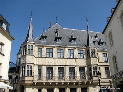 palatul regal din luxemburg