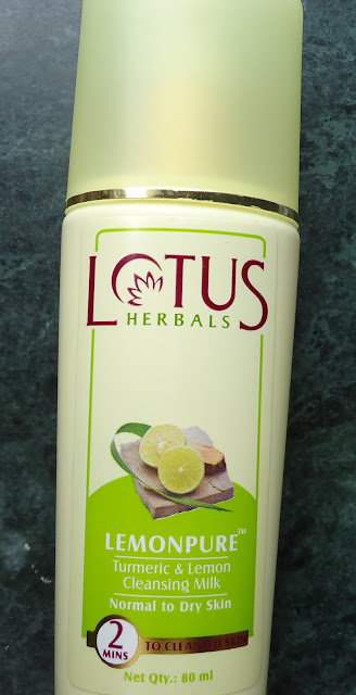 Lotus Herbals Lemonpure Cleansing Milk