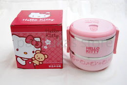 Rantang Stainless Hello Kitty