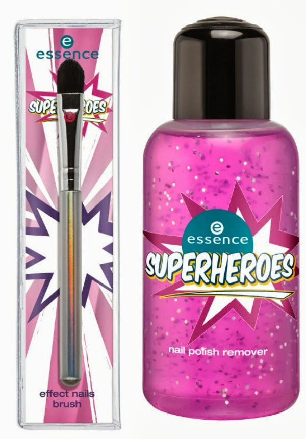 essence superheroes – effect nails brush & nail polish remover