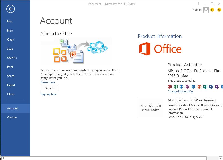 Microsoft Office Professional Plus x64 2013 Incl