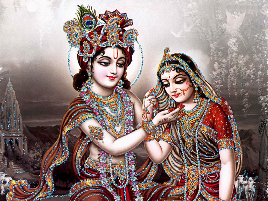 gallery for krishna radha love wallpaper