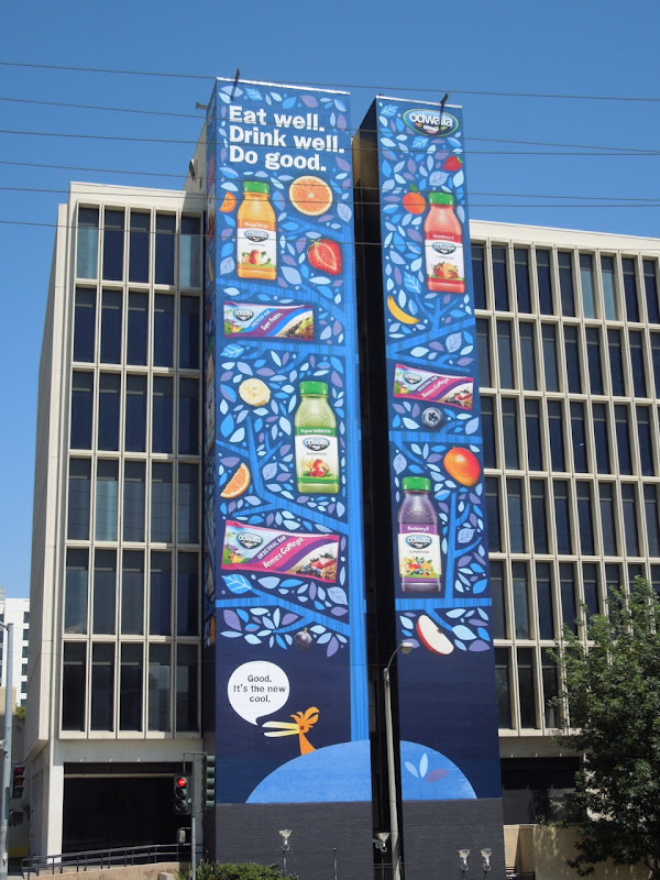 Giant Odwalla billboards