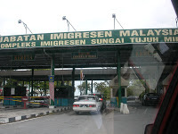 Immigration Control at the Malaysian-Sarawak border