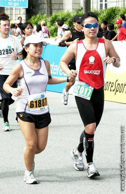 Many years later, maybe finish their marathons together just like in a life's journey…