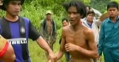 Jadi Manusia Hutan 40 Tahun Akibat Perang