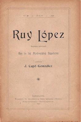 Número 2 de la revista Ruy López