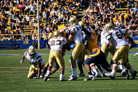 THE AMERICA UCLA FOOTBALL IMAGE