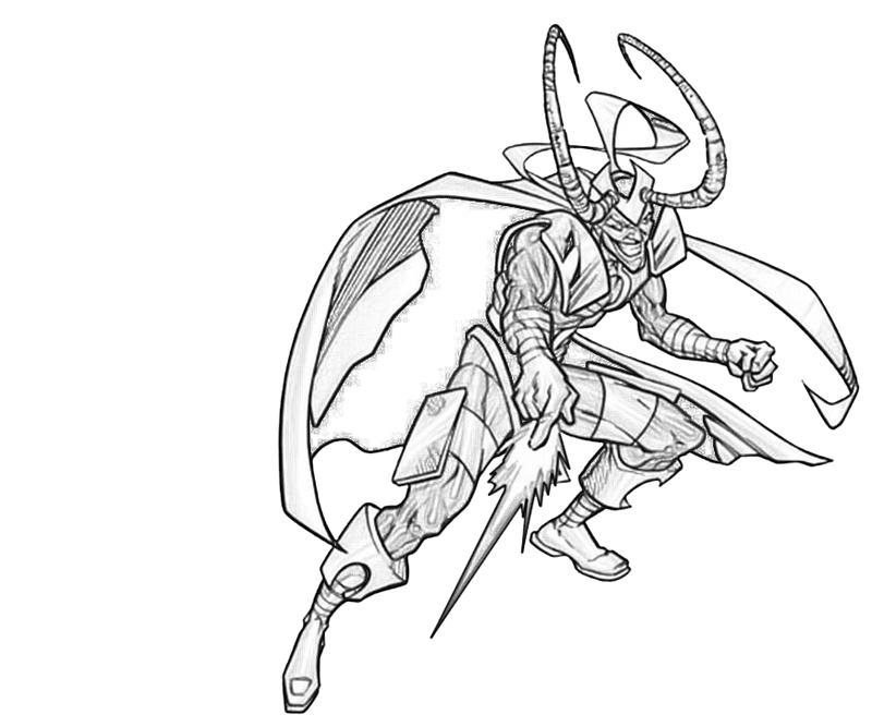 loki-attack-coloring-pages