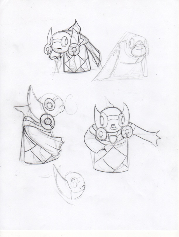 Guppy Drawing http://cliocalman.blogspot.com/2013/02/a-villain-guppy-pencil-sketches.html
