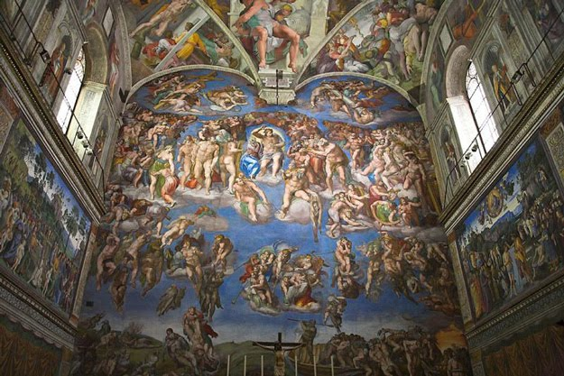 Which Famous Painter Painted The Ceiling Of The Sistine Chapel