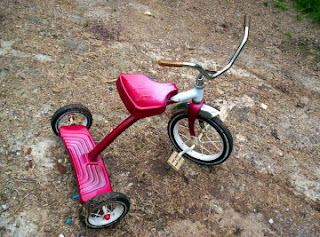 old fashioned tricycle