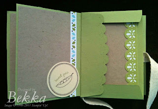 Scallop Envelope Mini Album