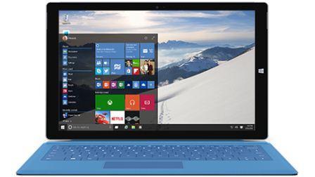 tampilan windows 10 Build 1035