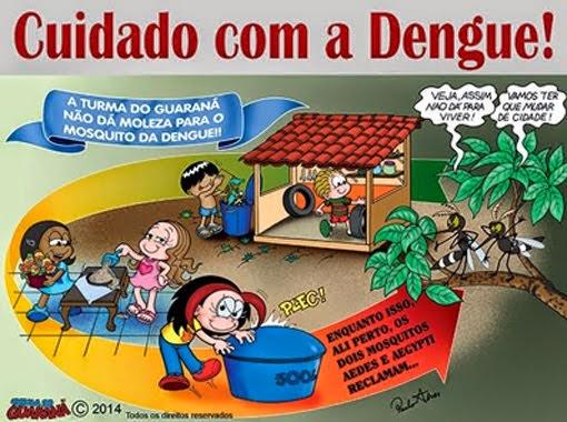 Cuidado com a Dengue!!!