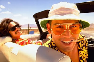Fear and Loathing in Las Vegas, Johnny Depp, Doctor Gonzo, Raoul Duke, Hunter S Thompson, Benicio Del Toro, drugs