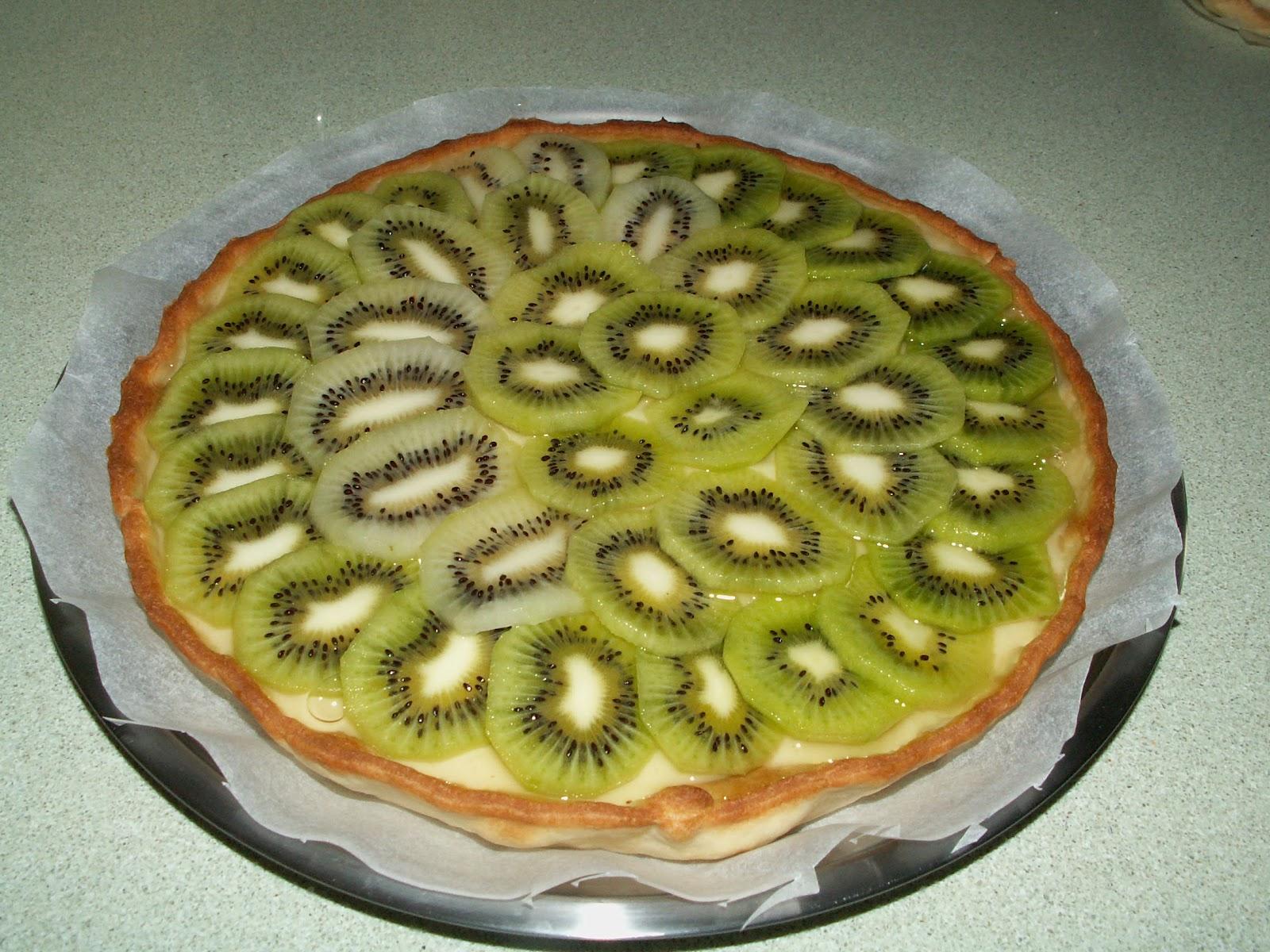 Kuchen kiwi receta