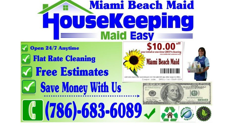 Code Name: The Cleaner - House Cleaning Services Miami
