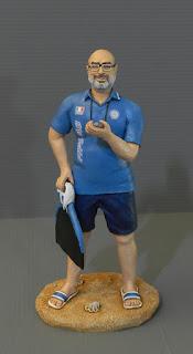 statuina personalizzata sportivo ritratto idee regalo nuotatore orme magiche