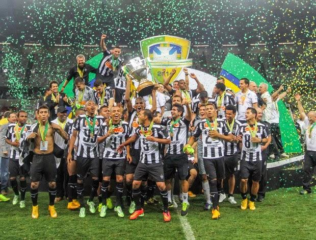 Galo bate Cruzeiro de novo e é campeão da Copa do Brasil