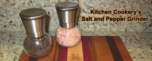 Kitchen Cookery's Salt and Pepper Grinder #KitchenCookerysSaltNPepperGrinder