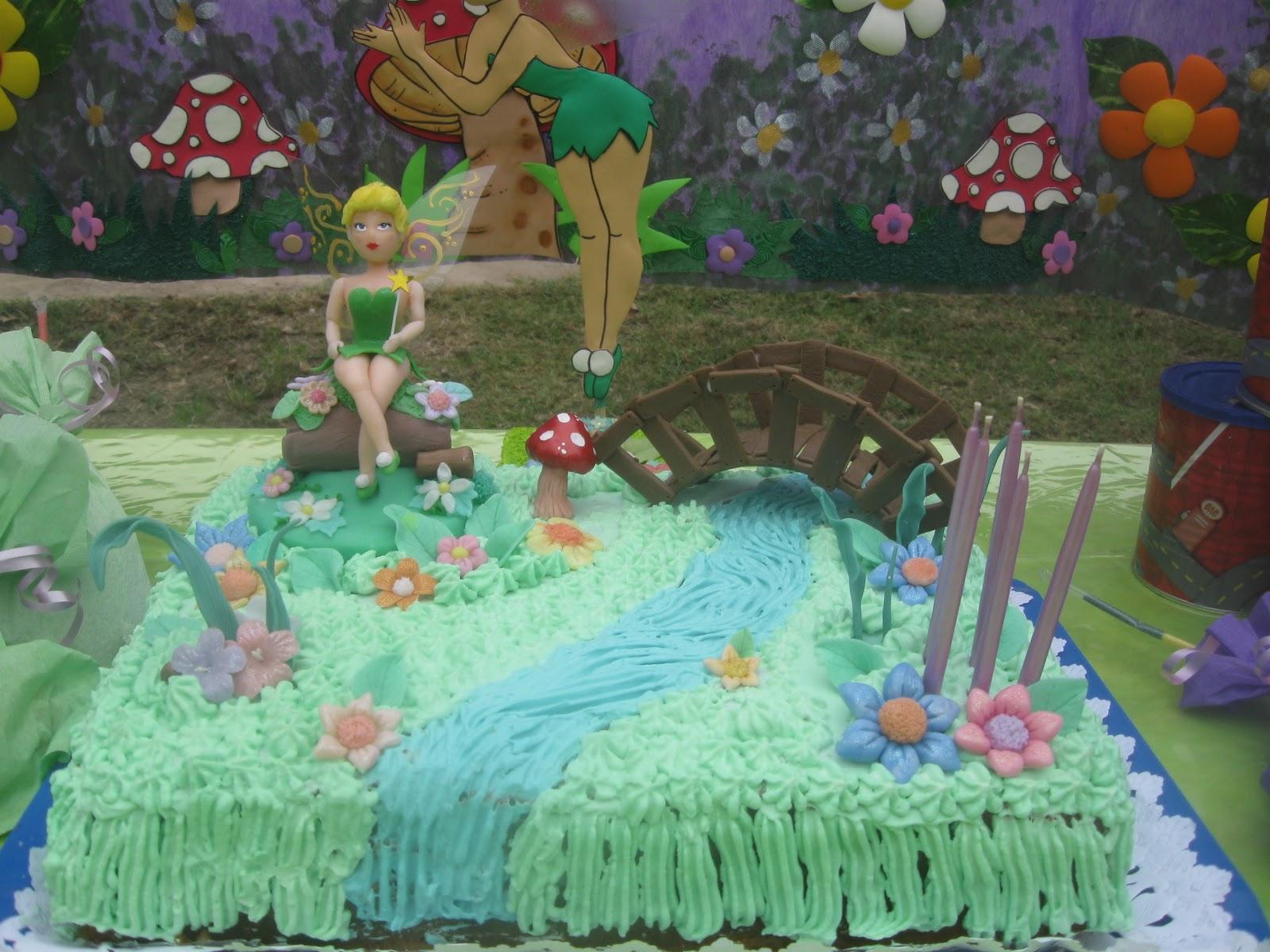 Decoraciones Mágicas: Cumpleaños TinkerBell
