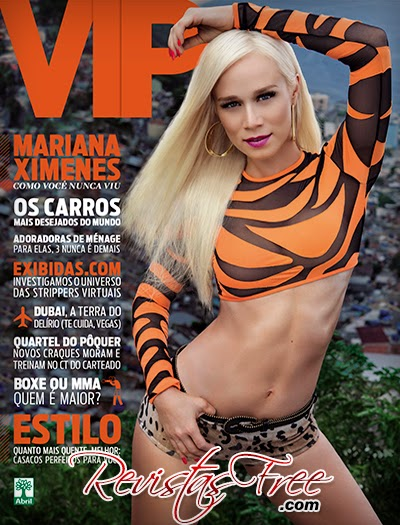 Revista Vip - Mariana Ximenes - Abril 2014