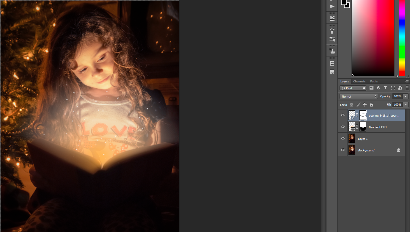 how to add glow to a picture photoshop